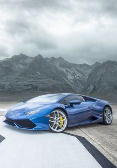 Lamborghini Huracan Beautiful but i prefer Mazerrati Black with that king Crown  #RePin by AT Social Media Marketing - Pinterest Marketing Specialists ATSocialMedia.co.uk