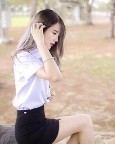 Sexy Asian Girls, Beautiful Asian Girls, Gorgeous Women, Gorgeous Lady, University Girl, College Girls, Asian Beauty, Cute Girls, Portrait