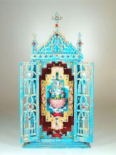 Willi de carvalho - Oratório, 52x25x15 cm - 2005