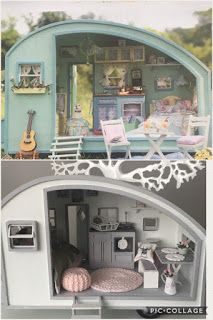 Nukkekotini Lillahus: asuntovaunu...