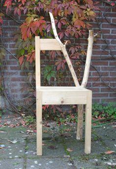 Grown into a Chair by Natalie Stämpfli