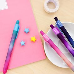 1pcs Creative New Cartoon Lovely Kawaii Plastic Flamingo Gel Pens For Kids Novelty Gift Korean Stationery Office School Supplies Numerous In Variety Office & School Supplies