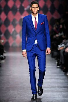 The Electric Blue Suit!