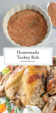 Low Unwanted Fat Cooking For Weightloss Homemade Turkey Rub Is A Blend Of 6 Easy Spices And Herbs To Make For A Flavorful And Delicious Roast Turkey Use It On Chicken, Beef And Baked Turkey, Roasted Turkey, Grilled Turkey, Turkey Breast Rub Recipe, Turkey Breast Injection Recipe, Best Turkey Rub Recipe, Brine Recipe, Breast Recipe, Smoked Turkey Rub