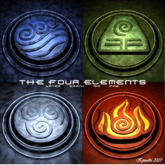 Avatar the last air bender elemental signs. I remember sitting with my friend just waiting for it to come on, and freaking out when it did.