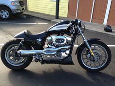 2004 Harley Davidson Sportster 1200R Cafe Racer.