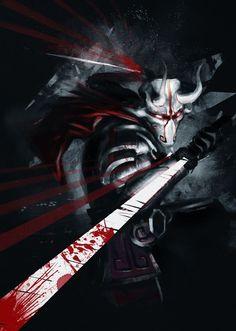 Juggernaut - The Exiled Ronin Dota Warcraft, Warcraft Art, Dark Fantasy, Fantasy Art, Character Concept, Concept Art, Character Art, Juggernaut Dota 2, Dota2 Heroes