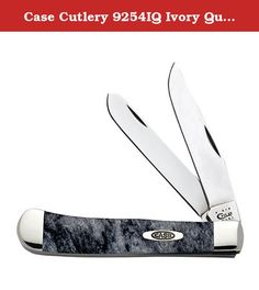 Case Cutlery 9254IQ Ivory Quartz Corelon Trapper Pocket Knife With Stainless Steel Blades Blue, Gray and White Mixed Corelon. W.R. Case and sons Cutlery company is an American manufacturer of premium, hand-crafted knives that are passed down for generations. Based in bradford, Pennsylvania, case's offerings cover a wide range of product categories, from traditional folding pocket knives and Fixed blade sporting knives to limited production commemoratives and collectables.