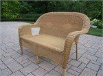 Oakland Living Resin Wicker Outdoor Loveseat - Honey Color . $395.15. Wicker makes a wonderful addition to any outdoor living area. For those in need of additional seating, the Oakland Living Resin Wicker Outdoor Loveseat is an excellent choice. Choosing this piece which is chip, crack and fade resistant ensures you have ample seats for many years to come.Product Highlights: Durable Resin Wicker and Steel Frame Construction Honey Color for Years of Beauty Easy to Follow Ass...