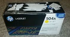Ink Coupons For - NEW GENUINE OEM Sealed HP504A Yellow LaserJet Toner Cartridge (CE252A) - http://www.inkcoupon.org/new-genuine-oem-sealed-hp504a-yellow-laserjet-toner-cartridge-ce252a/