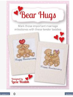 Bear Hugs Cute Card Collection 2013 Issue 2 Saved