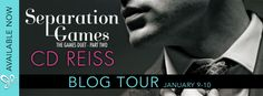 """Blog Tour - Separation Games by CD Reiss @CDReisswriter   Separation Games by CD Reiss  Series: The Games Duet # 2 Release Date: January 3 2017 Genre: Contemporary Romance/Erotic Romance  """"CD Reiss writes the best erotica I have ever read.""""  Meredith Wild #1 New York Times bestselling author of The Hacker Series  Synopsis:  The stunning conclusion to the New York Times Bestseller.  Theres one unbreakable rule in the game.  Stay collected. Compartmentalize. Think your next move through. Never…"""
