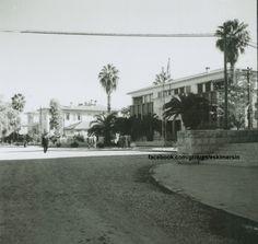 Mersin 1960 lar İş bankası köşesinden Merkez bankası.