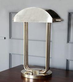 Paris Exposition, 1925. | Paris Exposition Table Lamp by Marcel Breuer