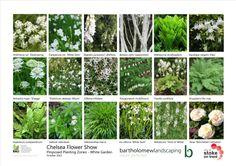 White planting sheets for the Positively Stoke-on-Trent garden