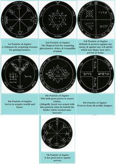 Solomon Pentacles of Jupiter
