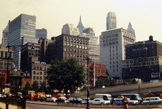 Lower Manhattan Mid-Late 1950's!
