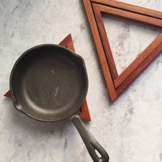 Image of Wooden Trivet / Pot Holder