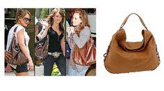 REBECCA MINKOFF NIKKI HOBO BAG Tan Brown $595 Celebrity Handbag Purse Tote #RebeccaMinkoff #Hobo