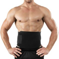 70aabc05238 Ab Waist Band Trainer Belt Workout Fitness Men Women Stomach Gym Exercise  Body - Go Shop Sports