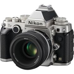 Nikon Df Camera with 50mm f/1.8 Lens (Silver) Nikon Df at B&H Photo | B&H Photo Video