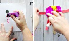 Une technique super amusante pour fabriquer des marionnettes monstres rigolos, avec les enfants!