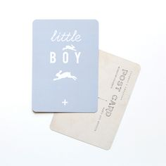 """Carte Postale """"little BOY"""""""