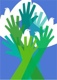 Carta de la Tierra, 2010. Imagen de Sebastián García Garrido para la contraportada de I+Diseño núm. 02