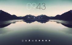 Windows Seven Desktop (rainmeter+rocketdock)   A Random Package