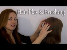 this one turns me to mush.  Soooo relaxing, I fall asleep.  ▶ *-* Binaural ASMR Relaxing Hair Play & Brushing *-* Ear to Ear - YouTube