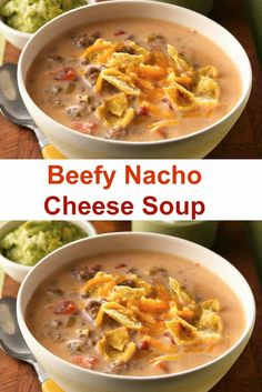 Beefy Nacho Cheese Soup