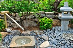 Royal Way - A meditative fountain in RW Ranch's Zen Park.