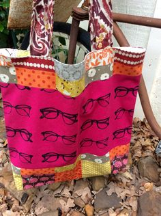 A personal favorite from my Etsy shop https://www.etsy.com/listing/234401618/large-bag-large-tote-glasses-shoulder
