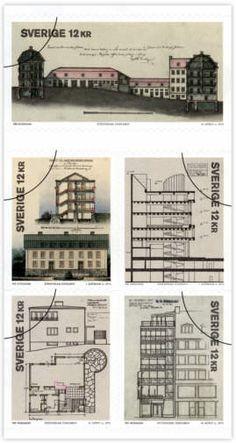 Sverige frimärken 20130314 Stockholms världsminne