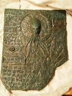 Propnomicon: Cthulhu Tablet, Take Two Ancient Aliens, Aliens And Ufos, Ancient Art, Ancient History, European History, American History, Cthulhu Art, Lovecraft Cthulhu, Call Of Cthulhu