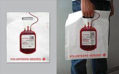 La publicidad más ingeniosa en bolsas - Yahoo Finanzas España. Cruz Roja Una bolsa donde se aplique el ingenio también pueden servir para conseguir aumentar el número de donantes de sangre, tal y como hizo Cruz Roja en China.