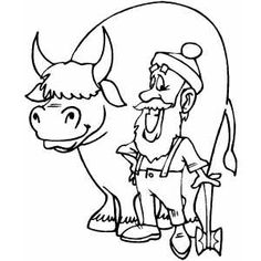paul bunyon coloring pages | Learn About Paul Bunyan With These Free Printables | One ...