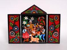NATIVITY Scene Traditional Retablo Folk Peru by SarhuaArtsCraft, $108.50