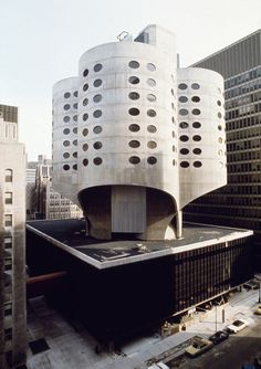 The design for the clover-shaped tower of Bertrand Goldberg's Prentice Women's Hospital in Chicago was enabled by the pioneering application of one of the earliest three-dimensional modelling programmes