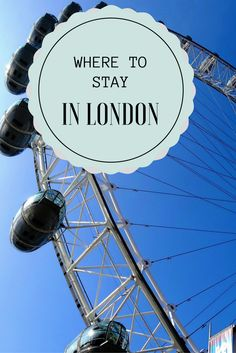 Want to know the best places to stay on your London vacation? Here is the BEST neighbourhoods in a handy guide.