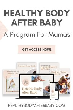 Hey mama! Are You Ready To Finally Conquer Those Cravings And Lose Weight While Breastfeeding So You Can Keep Up With Your Kids? >> Without Energy Drinks Or Meal Replacement Shakes? >> Without Spending Hours In The Kitchen? >> Without Losing Your Milk Supply?  Aren't you tired of feeling tired and hungry all the time? Join the 4-Week Healthy Body After Baby Program! Go to healthybodyafterbaby.com for more information. #lactationmamas #breastfeeding #newborn #postpartumbody #healthylifestyle