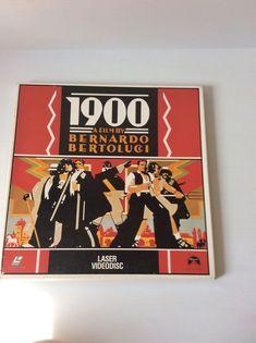 1900 A Film By Bernardo Bertolucci Laser Video Disc Rated R 255mins 1976  | eBay