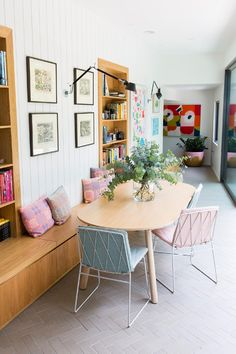 This comfortable three-bedroom family home was built in the late 1960s in an intimate court in the leafy bayside Melbourne suburb of Brighton. Sitting on a somewhat irregular block, the home presented unusual shapes and angles for the Iva Foschia of IF Architecture to navigate around.