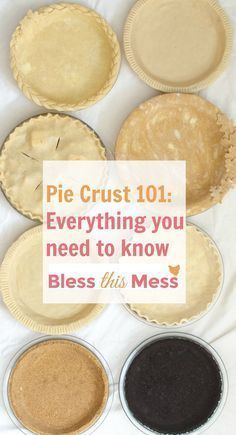 This is your ULTIMATE guide to making a perfect pie crust! It has 4 great recipes – traditional, whole wheat, graham cracker & chocolate cookie crusts. I'll be the first to admit that I used to be totally intimidated by pie crust. I felt like there were t Low Carb Dessert, Pie Dessert, Dessert Recipes, Easy Pie Crust, Pie Crust Recipes, Pie Crusts, Quiche Crust Recipe, Best Pie Crust Recipe, Quiche Recipes