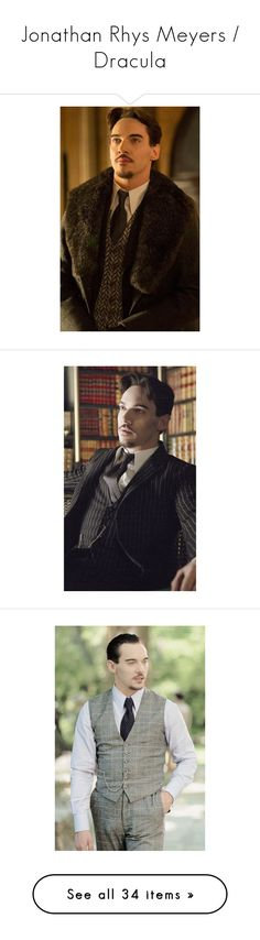 """Jonathan Rhys Meyers / Dracula"" by adorablequeen ❤ liked on Polyvore featuring people and pictures"