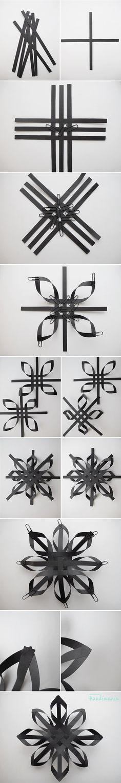 Woven Snowflake Design