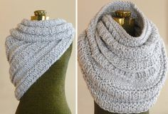 The Katniss Cowl, Hunger Games Chunky Knit Cowl, Knitted Infinity Loop Scarf, Circle Scarf,Chunky Infinity Scarf, Winter Fashion Accessories... Omg! I want it!!