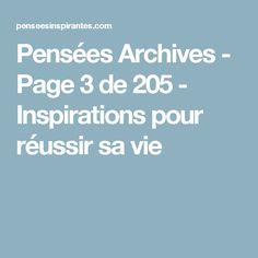 Pensées Archives - Page 3 de 205 - Inspirations pour réussir sa vie