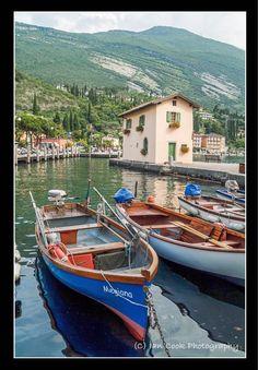 Fishermans cottage, Torbole, Lake Garda, Italy.