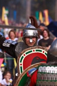 Reenactment at its best at the Abbey Medieval Festival